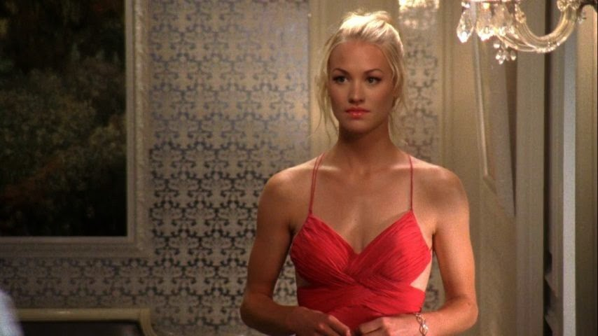 Image result for chuck sarah in red dress